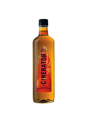 Cinerator Whiskey Cinnamon Liqueur 750ml, 45.55%