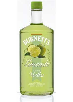 Burnett's Limeade Vodka 750ml, 35%
