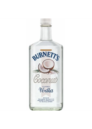 Burnett's Coconut Vodka 750ml, 35%