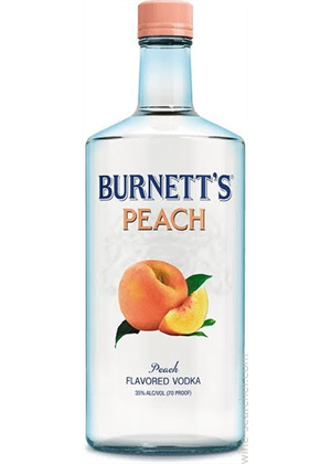 Burnett's Peach Vodka 750ml, 35%