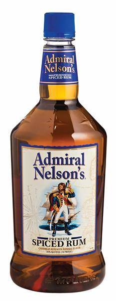 Admiral Nelsons Premium Spiced Rum 750ml 35