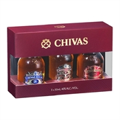 Chivas Tasting Collection Minis 3 x 50ml-miniatures-TopShelf Liquor Online Nz