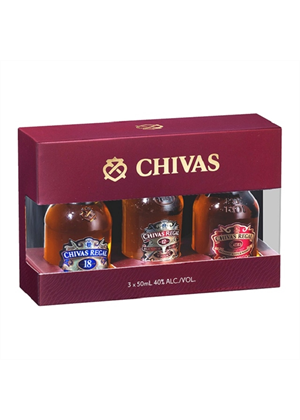 Chivas Tasting Collection Minis 3 x 50ml
