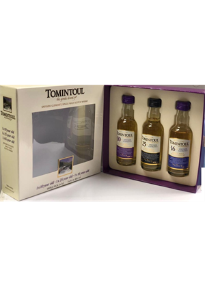 Tomintoul Minis 3 x 50ml