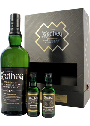 Ardbeg 10Yo Exploration Gift Pack