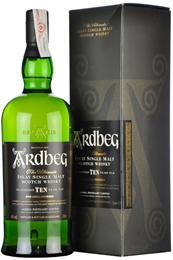 Ardbeg Single Malt, 10yr old, 1 litre, 46%-whisky-TopShelf Liquor Online Nz