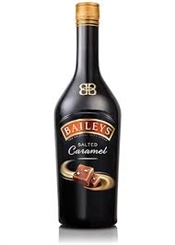 Baileys Irish Cream Salted Caramel Liqueur, 1000ml, 17%-liqueurs-TopShelf Liquor Online Nz