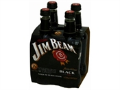 Jim Beam Black & Cola 4 x 330ml Bottles, 6%-bourbon-TopShelf Liquor Online Nz