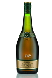 KWV Brandy 5YO 750 ml, 43%-spirits-TopShelf Liquor Online Nz