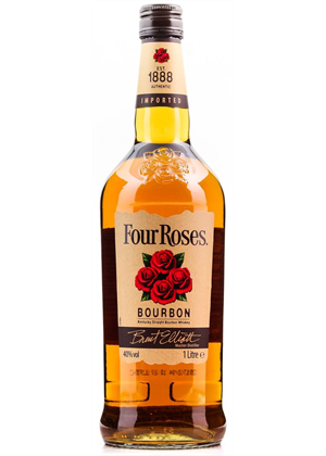 Four Roses Bourbon 1000ml, 40%