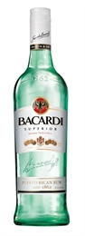 Bacardi Superior Rum 700ml, 37.5%-cheap as-TopShelf Liquor Online Nz
