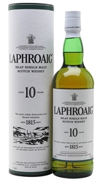 Laphroaig Whisky 10yr Old 700ml, 40%-single malts-TopShelf Liquor Online Nz