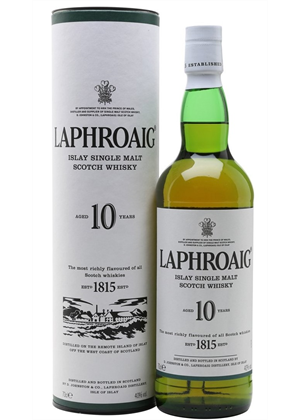 Laphroaig Whisky 10yr Old 700ml, 40%
