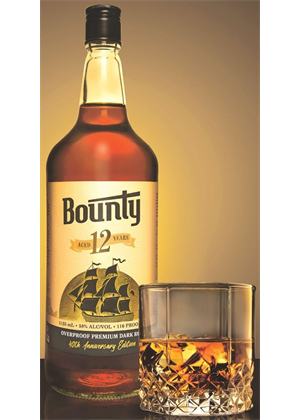 "Bounty Fiji Rum- 12Yo, 1125ml 58%- ""Special Edition"""