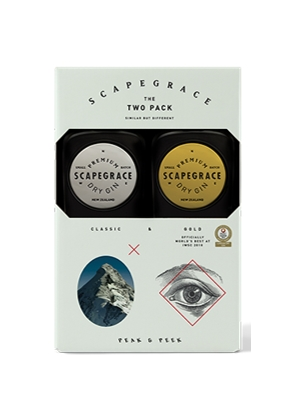 Scapegrace Gin Two Pack (Classic and Gold) (2x200ml)
