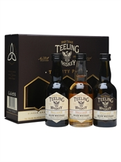 Teeling Whisky Trinity Pack 3 x 50ml, 46%-gifting-TopShelf Liquor Online Nz