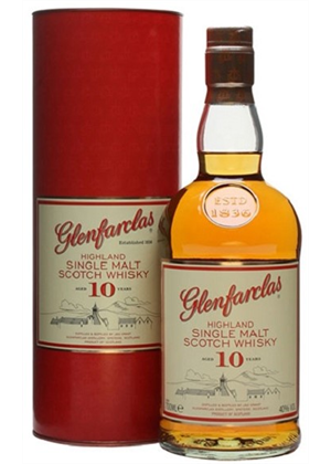 Glenfarclas Whisky 10yrs 700ml, 40%