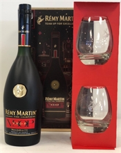 Rémy Martin VSOP Gift Pack with 2x Glasses 700ml, 40%-spirits-TopShelf Liquor Online Nz