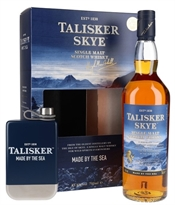 Talisker Skye 700ml Gift Pack with Hip Flask, 45.8%-whisky-TopShelf Liquor Online Nz