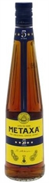 Metaxa 5 Star  Brandy 700ml, 38%-spirits-TopShelf Liquor Online Nz