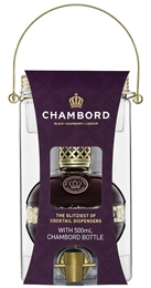 Chambord Cocktail Dispenser Gift Box 500ml, 16.5%-exclusive collections-TopShelf Liquor Online Nz