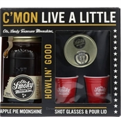 Ole Smoky Apple Pie+Shot Glass 700ml, 20%-gifting-TopShelf Liquor Online Nz