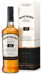 Bowmore 12Yrs Islay Single Malt 700ml, 40%-gifting-TopShelf Liquor Online Nz