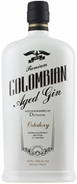 Dictador Colombian Ortodoxy Aged Gin 700ml, 43%-exclusive collections-TopShelf Liquor Online Nz