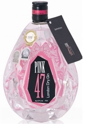 Pink 47 London Dry Gin 700ml, 47%-exclusive collections-TopShelf Liquor Online Nz