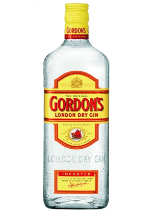 Gordon's London Dry Gin 1 litre, 37.2%