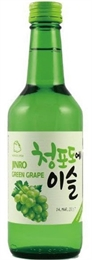 Jinro Soju 360ml X 20, 13% (GREEN GRAPES)-liqueurs-TopShelf Liquor Online Nz