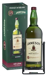 Jameson Whiskey 4.5 litre on Cradle, 40%-scotch blends-TopShelf Liquor Online Nz