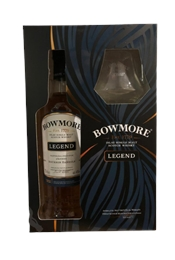 Bowmore Legend Gift Pack with Glass, 700ml, 40%-exclusive collections-TopShelf Liquor Online Nz