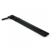 Flexi Straws Black 250 x 21cm-accessories-TopShelf Liquor Online Nz