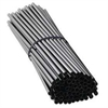 Cocktail Straws Black 14.5cm x 250-accessories-TopShelf Liquor Online Nz