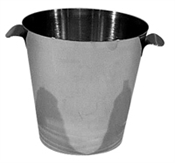 Wine Bucket Stainless Steel - Plain Handles-accessories-TopShelf Liquor Online Nz