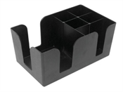 Bar Caddy - Black Plastic-accessories-TopShelf Liquor Online Nz