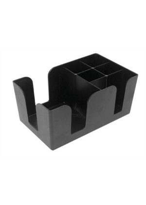 Bar Caddy - Black Plastic
