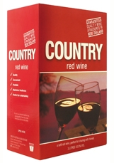Country Soft Red Wine 3000 ml, 12%-cask-TopShelf Liquor Online Nz