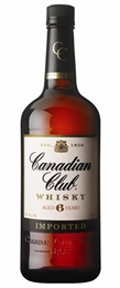 Canadian Club Whisky 1 litre, 40%-other whisky-TopShelf Liquor Online Nz