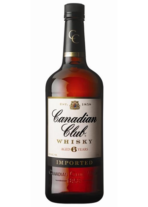 Canadian Club Whisky 1 litre, 37%