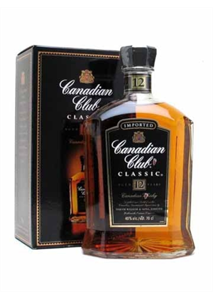 Canadian Club 12yr Old Whisky 700ml, 40%