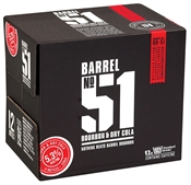 Barrel 51 & Cola Bottles 12 x 330ml, 5.3%-bourbon-TopShelf Liquor Online Nz