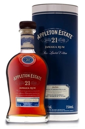 Appleton Estate Rum 21yr Old 750ml, 43%-boxed liquor-TopShelf Liquor Online Nz