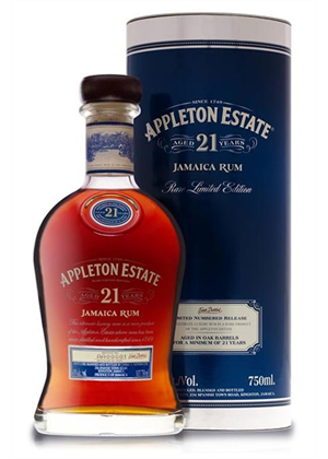 Appleton Estate Rum 21yr Old 750ml, 43%