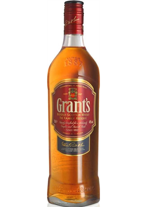 Grants Scotch Whisky 1 litre, 40% - GRANTS 1000ml : Whisky