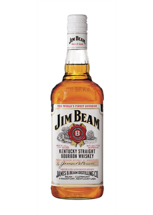 Jim Beam Bourbon 1 litre, 37.5%