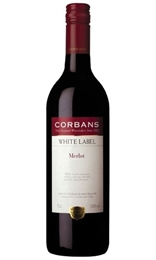 Corbans White Label Cab Merlot, 13%-red wine-TopShelf Liquor Online Nz