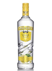 Smirnoff Citrus Vodka 700ml, 37.5%-vodka-TopShelf Liquor Online Nz