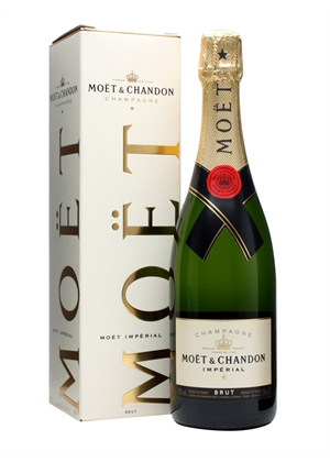 Moet & Chandon Brut NV Champagne 750ml, 12%